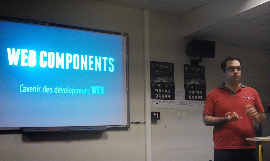 BreizhCamp 2013 # Web Components, l'avenir des développeurs web